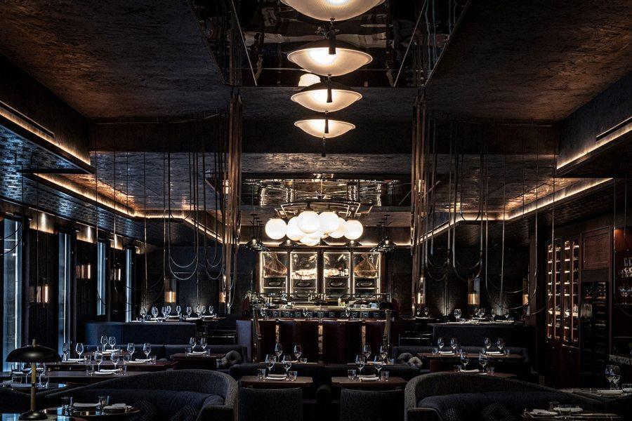 伦敦奢华会所餐厅设计效果图分享