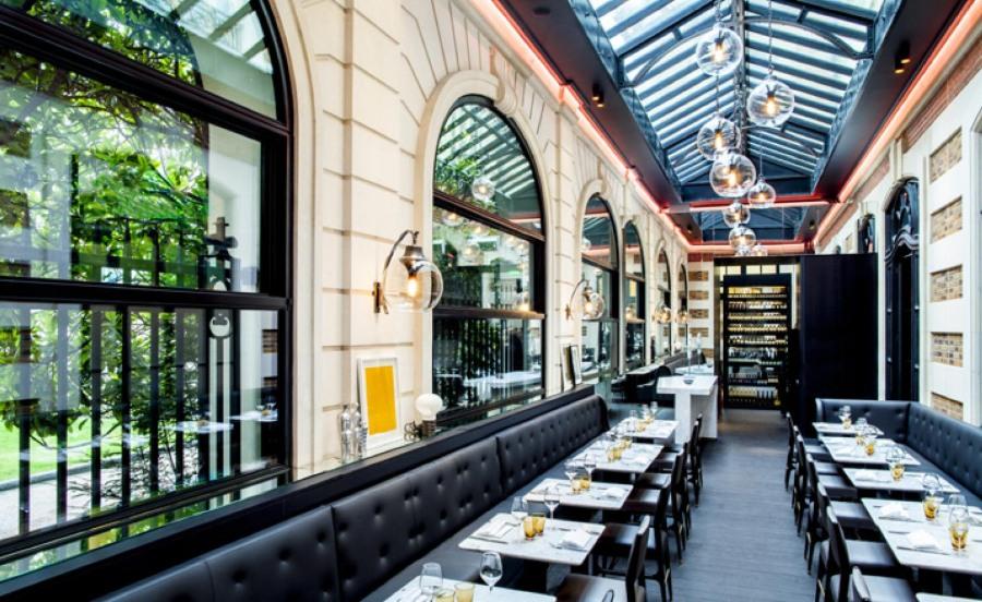 巴黎艺术珍品咖啡馆空间设计效果图