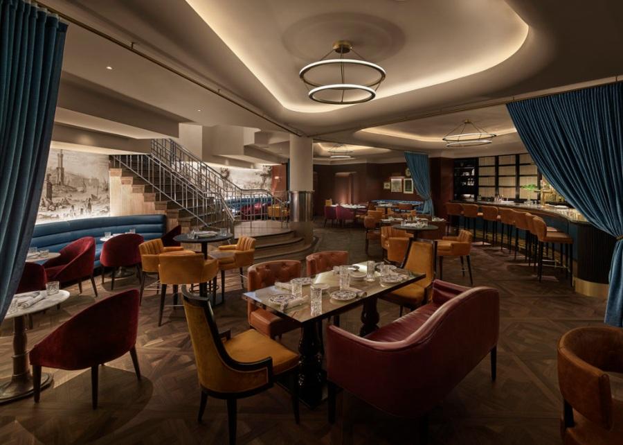莱亚餐厅—多伦多时尚艺术装饰餐厅