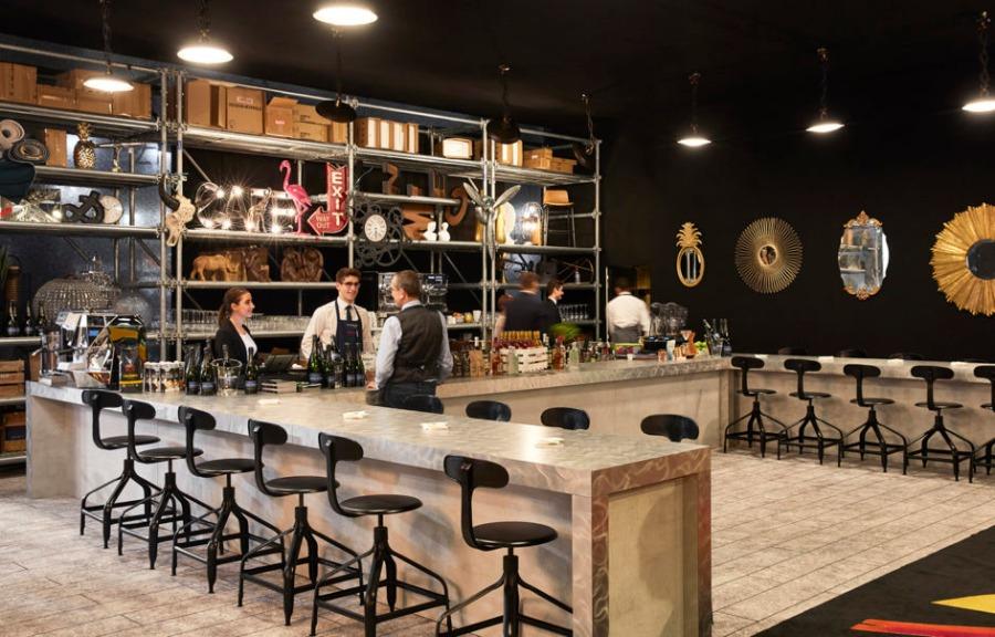 法国奢华西餐厅设计效果图分享