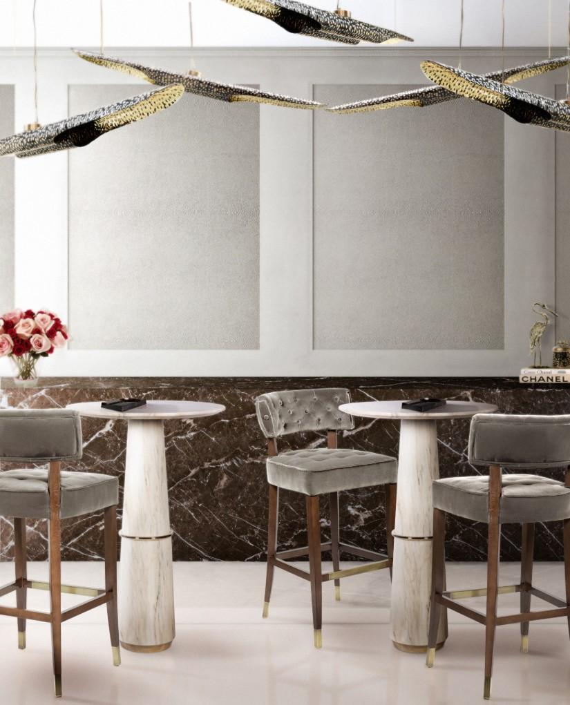 现代酒吧餐厅装饰设计灵感