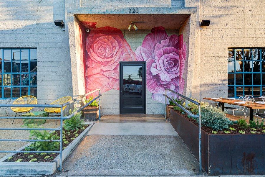 洛杉矶获奖设计公司Unltd工作室优秀餐厅设计