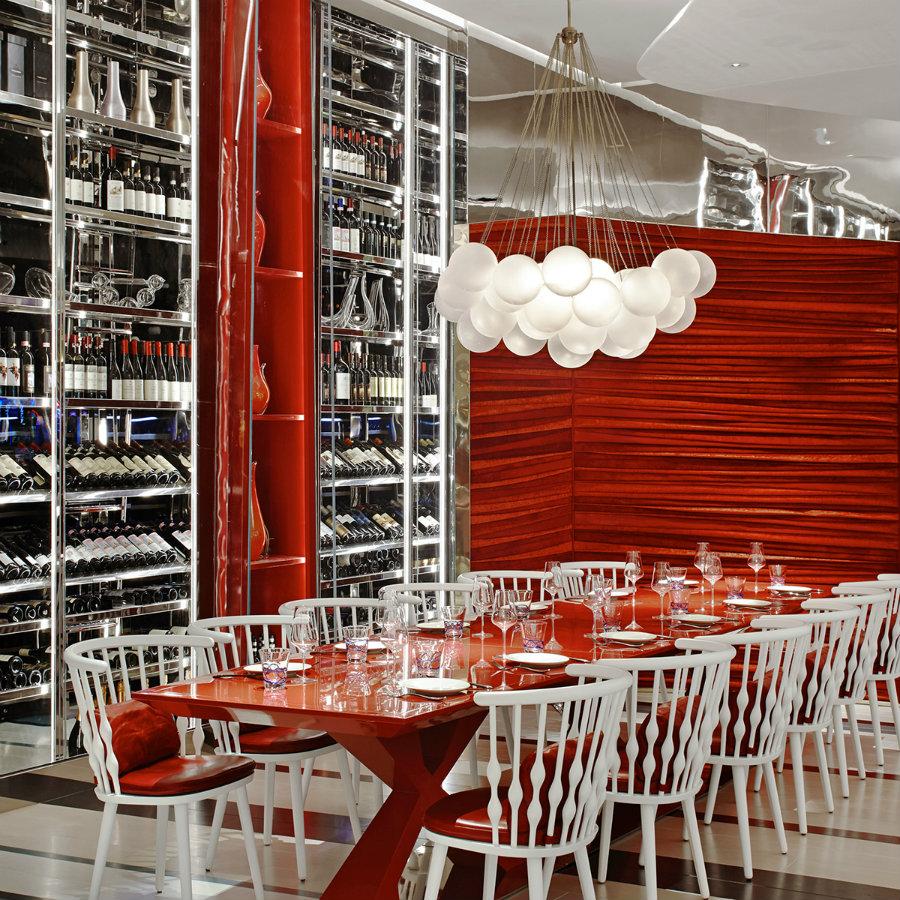 2019年现代餐厅空间设计,带来清新口味设计理念