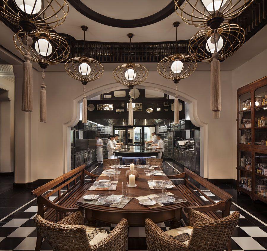 以法国室内设计闻名的顶级餐厅