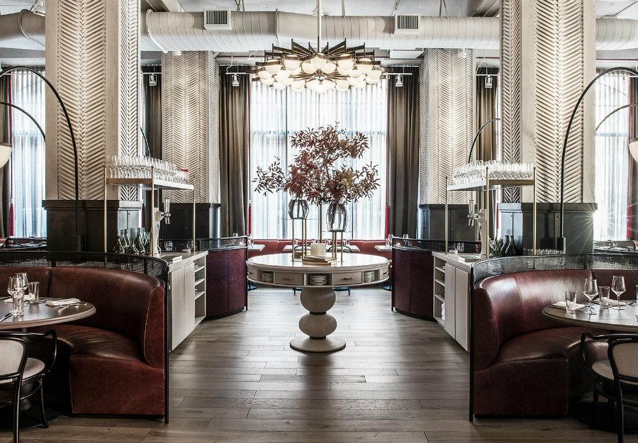 2019年餐厅照明设计理念:让吊灯适合你的项目