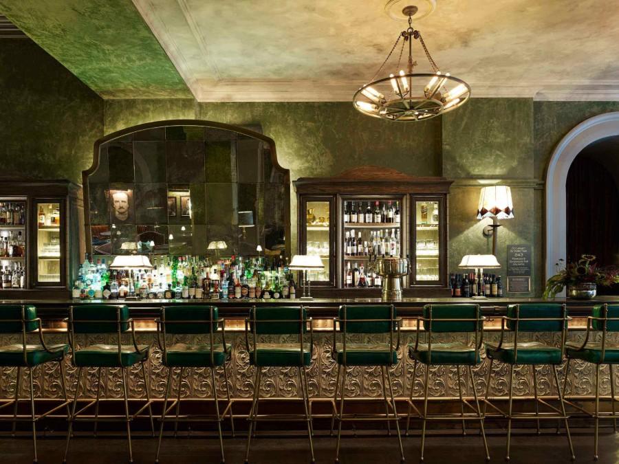 纽约最令人钦佩的餐厅室内设计