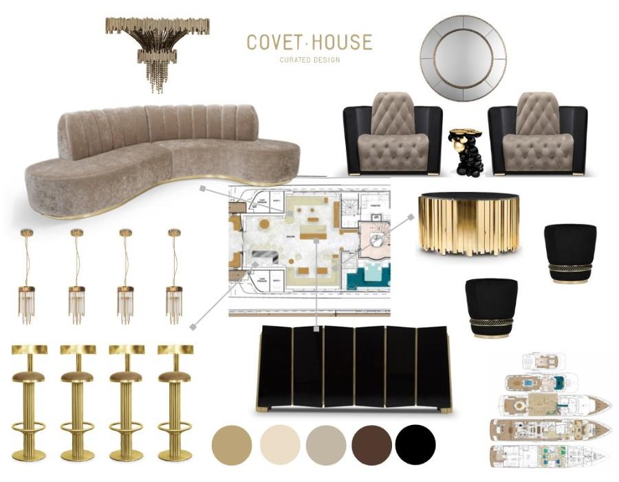 现代豪华餐厅软装设计理念