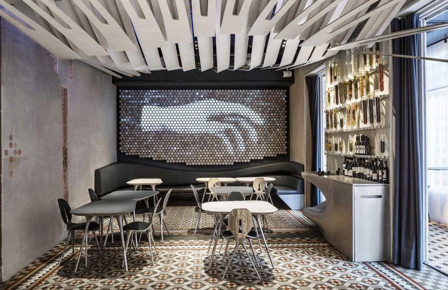 巴塞罗那15家令人瞠目结舌的现代风格餐厅设计