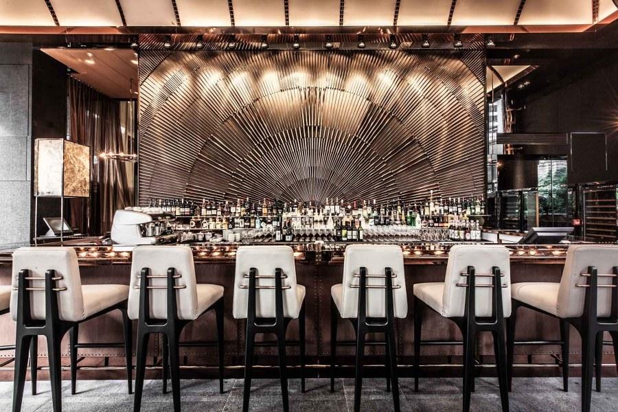 香港豪华现代餐厅设计