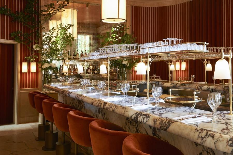 Girafe -巴黎豪华餐厅设计-5