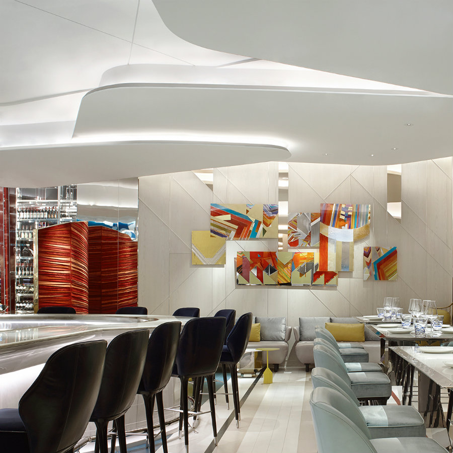 赌场奢华餐厅空间设计案例分享
