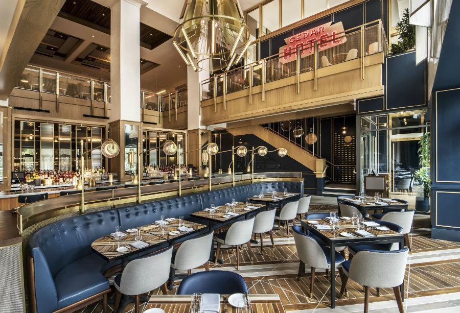 最佳酒店餐饮空间设计效果图