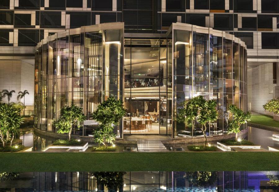 香港中餐厅空间设计效果图分享
