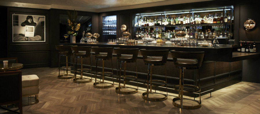 一个疯狂而受欢迎的洛杉矶最佳酒吧餐厅空间设计效果图