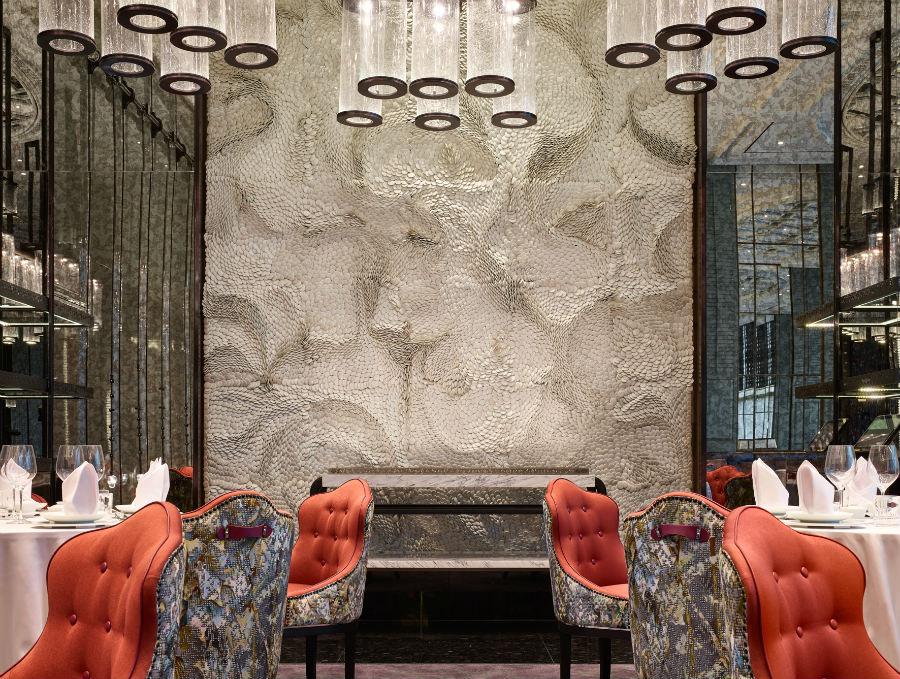吉隆坡四季酒店酒吧装饰理念中窃取亚洲文化灵感