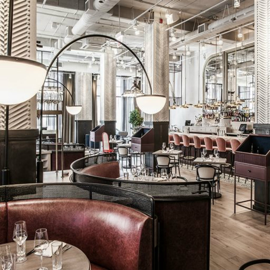 芝加哥最令人印象深刻的餐厅空间设计效果图